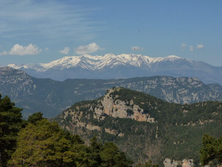 Ascensión circular al Mont por el Pas del Llop