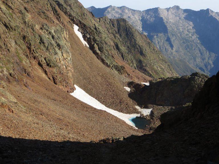 Pica d'Estats (3144 m.), Verdaguer (3125 m.)