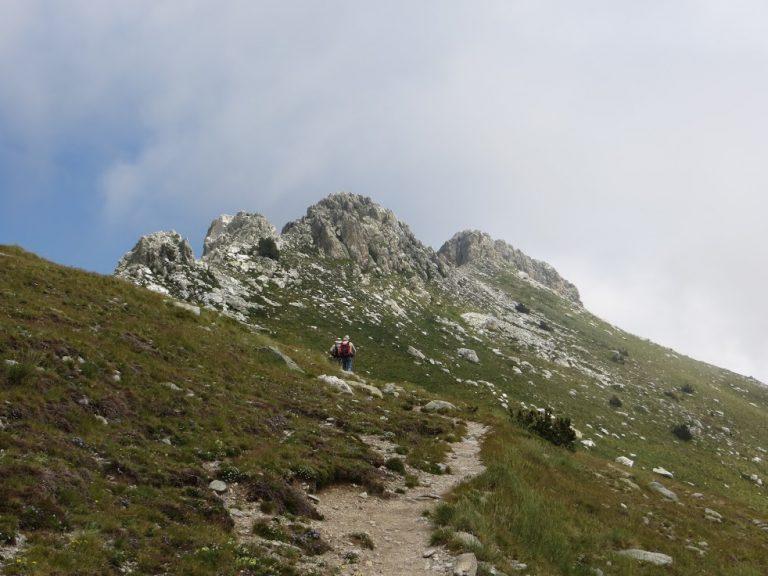 Collada Fonda, Costabona, esquerdes de Rojà, roca Colom,  collada Fonda