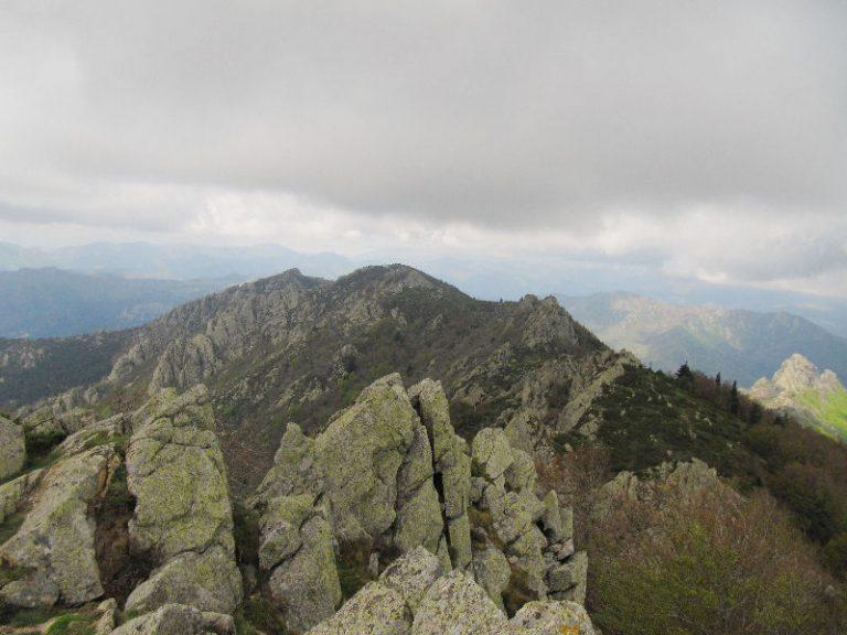 Maçanet de Cabrenys, les Salines (1446 m), pic Moixer (1143 m)
