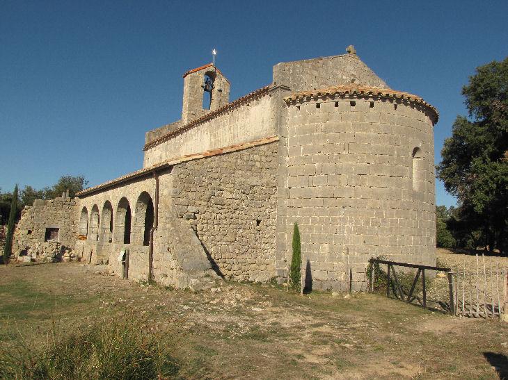 Can Bundància, Oix, pont medieval, sta. Bàrbara de Pruneres