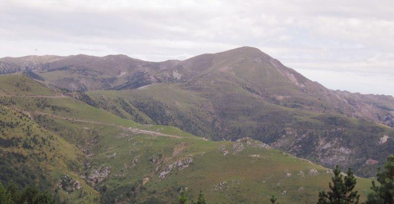 Molló, puig Moscós (1742 m), puig Sistra (1987 m), collada Fonda (1905), Molló