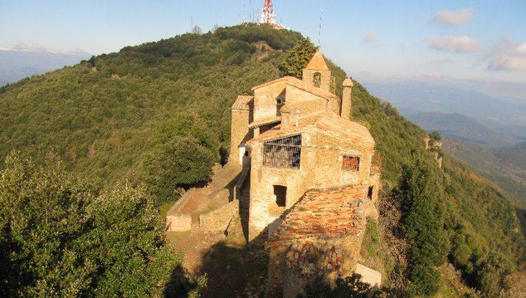 El Rocacorba (930 m) des de can Martí (Adri)
