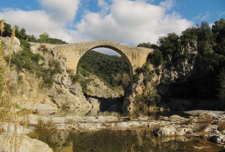 Oix, Talaixà, sant Aniol, Sadernes, pont Llierca, Oix