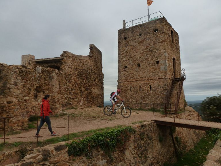 Vall de sant Daniel (Girona), castell de sant Miquel