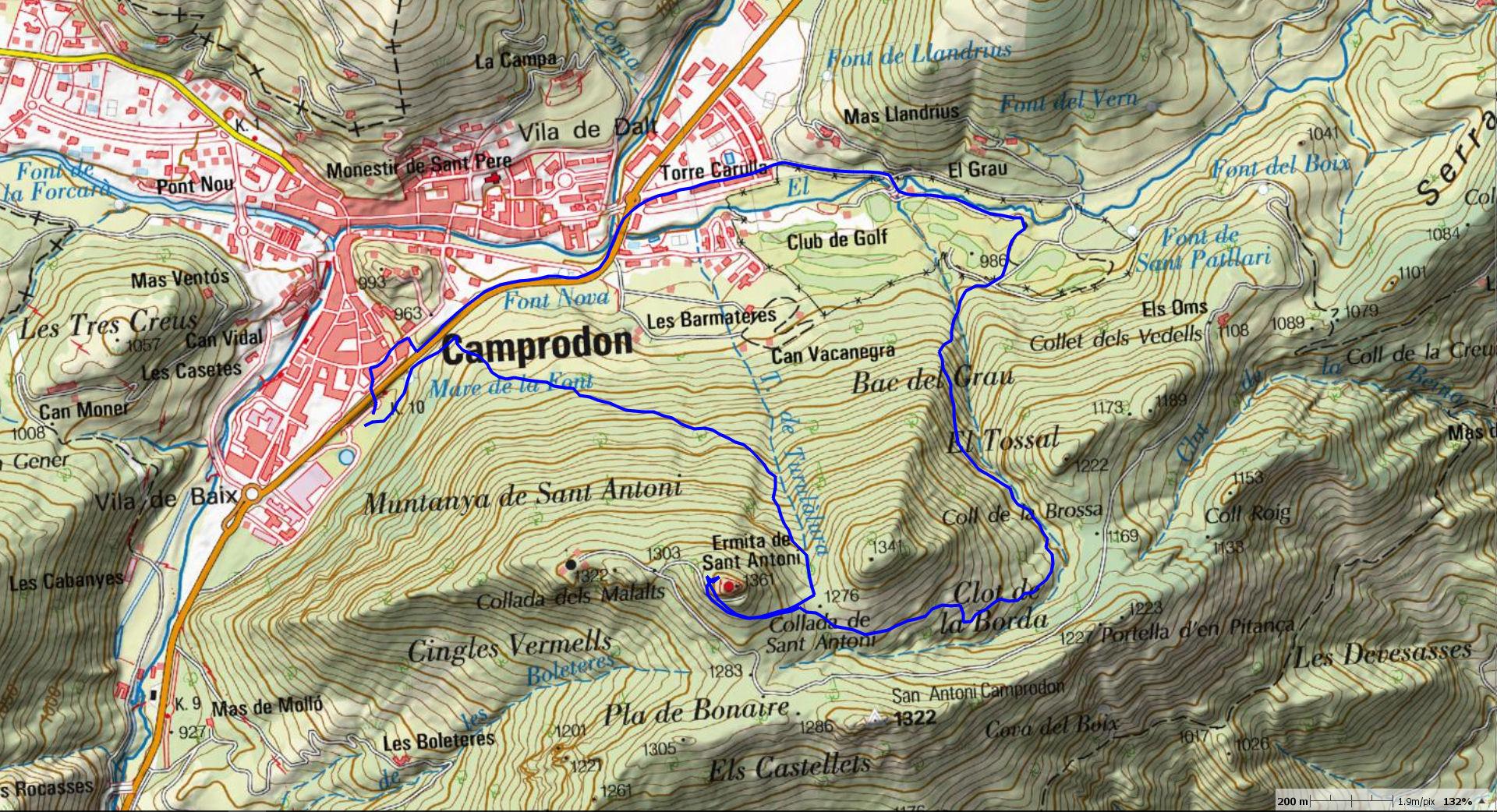 st-antoni-camprodon-map