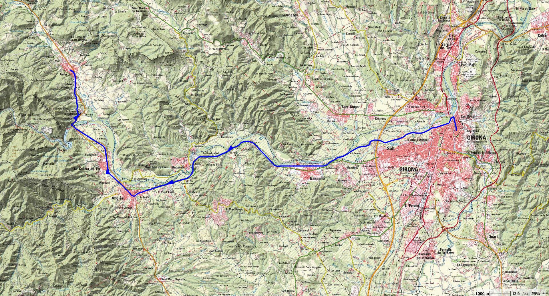 girona-amer-map
