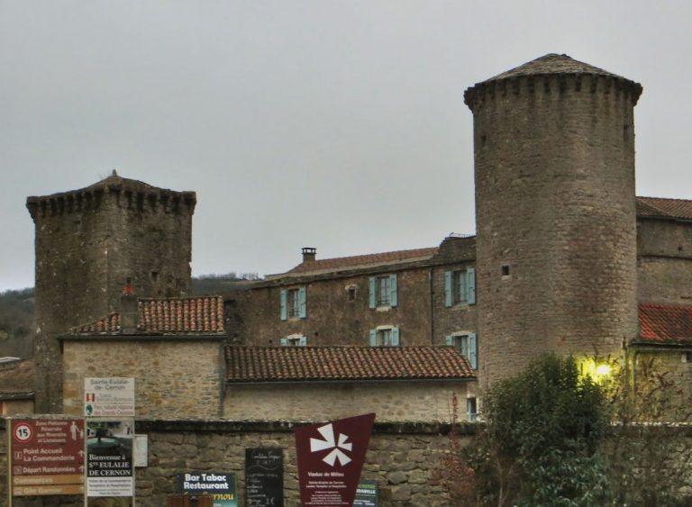 Massif Central. Sainte-Eulalie-de Cernon