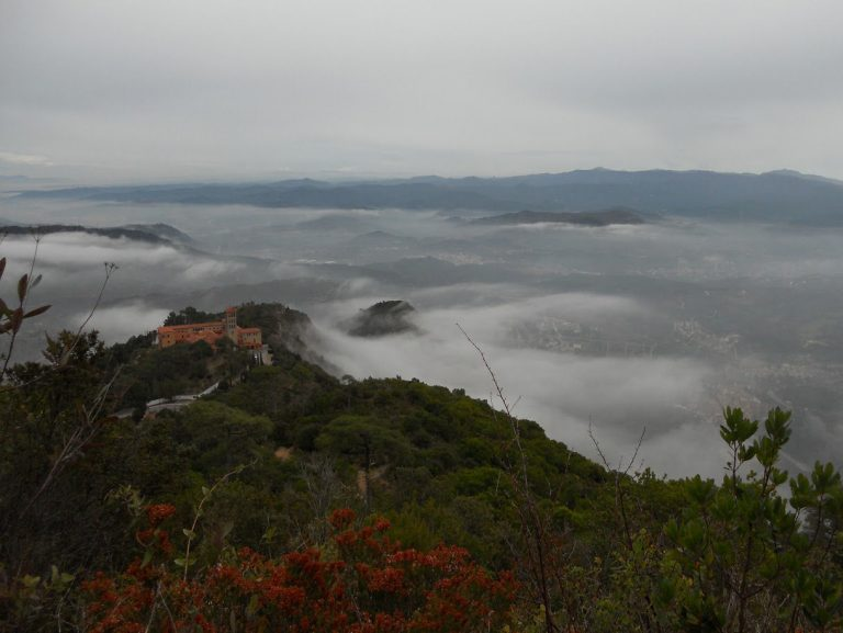 El camino de Santiago en Catalunya. Manresa, Montserrat. Etapa 11