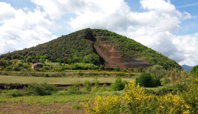 Rodando por la zona volcánica (6). Olot, Fageda, Batet de la Serra