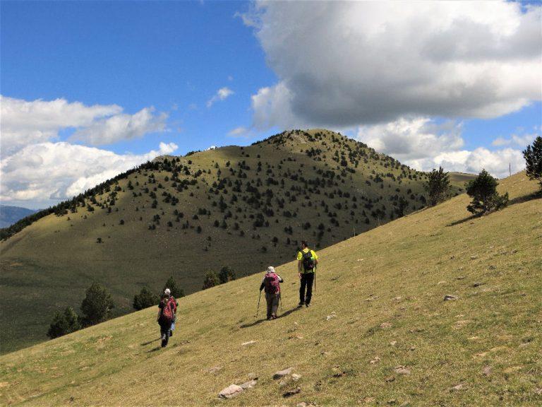 Nevà, Pedra Picada (2010 m.), Emperadora (1962 m.), Pedra Picada oriental (Costa Pubilla, 2055 m.)