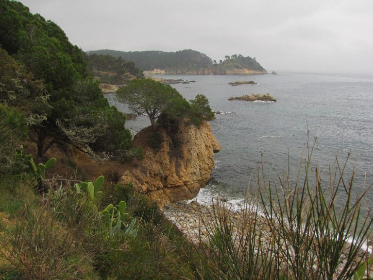 De Palamós a cap Roig por la playa