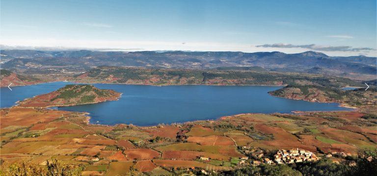 Vuelta al lago de Salagou