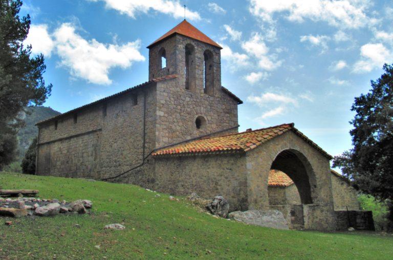 Tortellà, Camí del Valencià, Camí de Sant Jordi, Puig de la Calma (1053), Sant Grau d'Entreperes