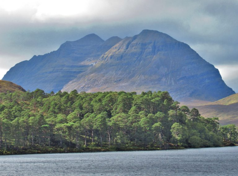 Escocia, Torridon. Loch Clair, Loch Coulin