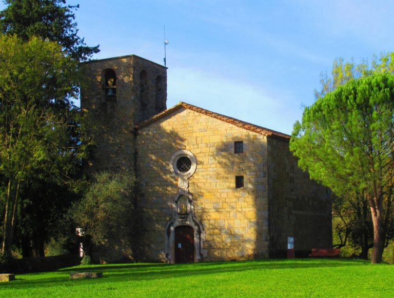 Caminos de Tortellà y Sales de Llierca. El Borró, Castell de Sales, Camí de Meians