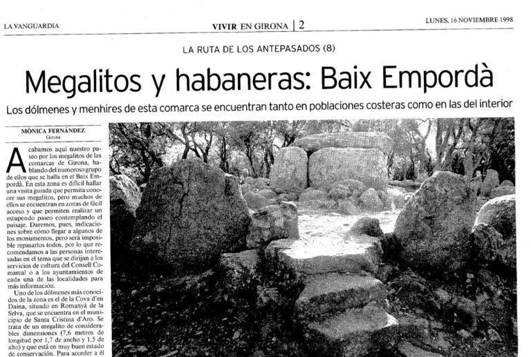 Megalitos y habaneras: Baix Empordà