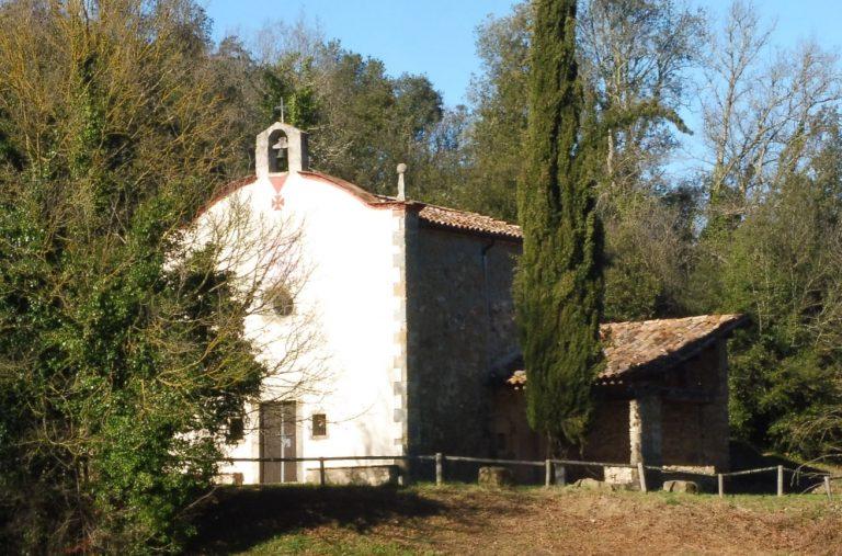 Sant Esteve d'en Bas, Serrat de la Calcina, Serra Gatonera, Santa Cecília, Sant Miquel de Pineda, Coll d'en Bas