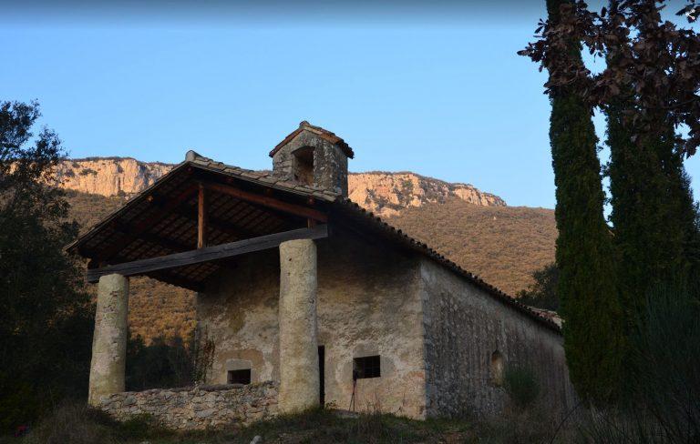 Sant Martí de Llémena, cingles de Rocafesa