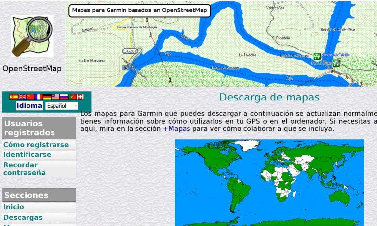 Mapas de OpenStreetMaps