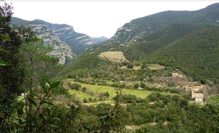 Pont de Llierca, Coll de Poli, Serra Alta, Sadernes